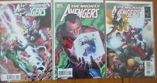 The Mighty Avengers #32 #33 #34 Marvel 2009 VF/NM