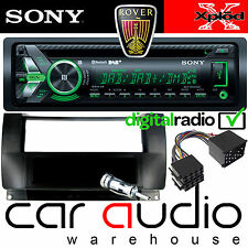 ROVER 75 Sony DAB Bluetooth CD MP3 USB Car Stereo & Single Din Fascia Pocket Kit