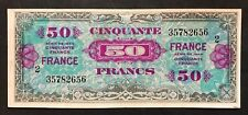 FRANCIA FRANCE ALLIED OCCUPATION WWII 5 FRANCS 1944 spl LOTTO 425