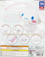Sanrio Cinnamoroll Pug Up Mascot Complete 5pcs + Display Card - Takara Tomy ARTS