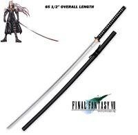 """Giant Sephiroth Masamune Replica Katana Final Fantasy 7 FF7 65"""" sword sharp edge"""