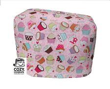handgemacht Kenwood Prospero Küchenmaschine Deckel 100 Baumwolle rosa Cupcakes