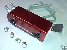 RED ALLOY OIL CATCH TANK mitsubishi lancer galant 3000