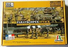 WARGAME - PARATROOPER ATTACK - OPERATION OVERLORD NORMANDY 44 - ITALIERA 1/72
