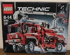 LEGO Technic 8289 Feuerwehr-Truck mit OVP Anleitungen 100% komplett, Sticker NEU