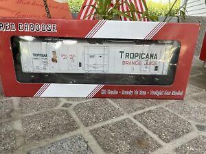 Tropicana Refrigerated Car Red Caboose No.563