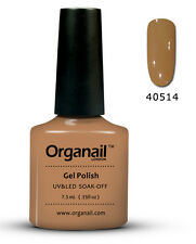 Vernis à ongle semi permanent 14 Caramel organail Gel UV LED Manucure soak