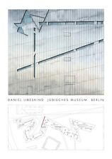 Daniel Libeskind Juedisches Museum Berlin Poster Kunstdruck Bild 100x70cm