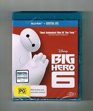 Big Hero 6 : Blu-Ray Disney Brand New & Sealed