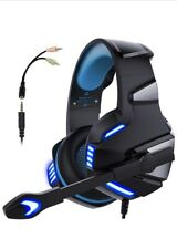 Micolindun V3 3.5mm Gaming Headset Mic LED Hunterspider For PC PS4 Xbox one Pro