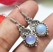 Opalite Gemstone Dangle Earring 925 Sterling Silver Overlay U237-G7