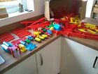 Huge Vintage 1970s Plastic Toy Train Set - Mettoy / Playcraft - Over 100 Pieces
