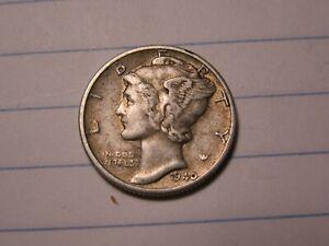 USA  1940  DIME      1 COIN