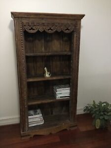 anna spiro decorative teak bookshelf perfect condition - collector piece