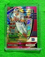 DANIEL JONES PRIZM PINK PULSAR NEW YORK GIANTS 2020 PRIZM DRAFT PICKS PRIZM