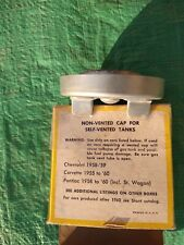Vintage G-38 Stant gas cap for Corvette, Chevrolet & Pontiac non-vented gas cap