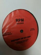 """DDS - History Of Hip Hop 12"""" RPM 101 NEW SEALED"""
