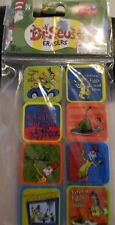 "Dr Seuss ""Do You like Green Eggs"" and Ham?"" Erasers 8 ct. New 2017"