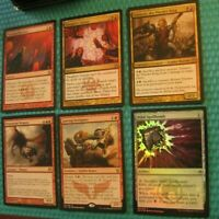 Rakdos B/R Discard Sacrifice Lot, NM-LP, Commander EDH, Magic the Gathering Foil