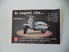 advertising Pubblicità 1978 LAMBRETTA 150 DL