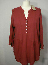 BNWT M&Co raspberry pink jersey tunic style top 14