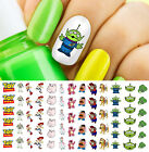 Toy Story 4 Woody Buzz Lightyear Nail Art Decals - Salon Quality Disney Pixar