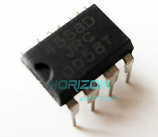 100pcs JRC4558D RC4558D 4558D OP AMP IC ICs DIP- 8 pin Low Power For TS9 TS808