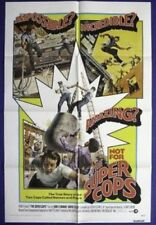 THE SUPER COPS ORIGINAL FOLDED 27x41 MOVIE POSTER 1974 DAVID SELBY