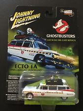 JOHNNY LIGHTNING - Movie TV Diecast Car - GHOSTBUSTERS ECTO-1A - 1:64 Cadillac