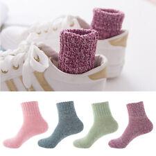 AHG Wool Cashmere Women's Thick Winter Socks - 5 Pairs