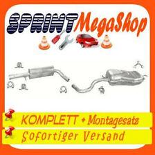 Auspuff GOLF IV 4 1.6 1.8 2.0 Schrägheck 81 85 92 KW 1997-2004 Abgasanlage 1519