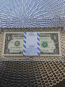 2013 1 Dollar Star Notes BEP Pack With Acrylic Holder