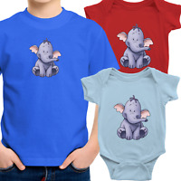 Toddler Kids Tee Youth T-Shirt Infant Baby Bodysuit Gift Baby Heffalump Pooh