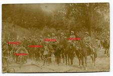 Foto Reiter Rgtr. 18 zu Pferd mit Helm uns Motorrad in Oberhof Thür. 1927
