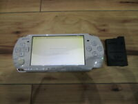 Sony PSP 3000 Console Pearl White w/battery pack M854