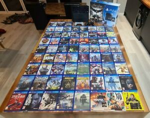 Sony PlayStation 4 ps4 67 games + 20th anniversary dualshock 4