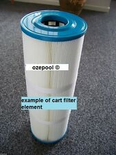 Poolrite Enduro/Monarch Ecopure C150 CART FILTER ELEMENT, 730x185x75 mm hole