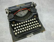 Vintage Mercedes Melitta Typewriter Zella-Mehlis Thuringen Model