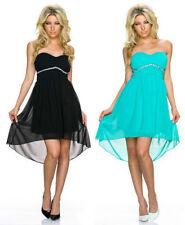 Kurze Damenkleider aus Chiffon in Größe 38