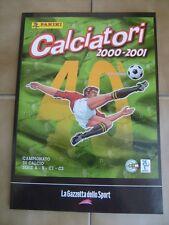 CALCIATORI PANINI=2000/2001=RISTAMPA INTEGRALE DELL'ALBUM=EDITA DA PANINI-GDS