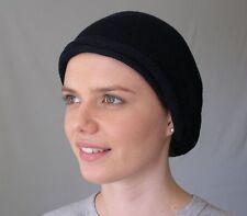 Light-Med weight Black Head wrap Turban Wrap Chemo Hair Scarf Soft Cotton