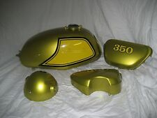 PANTHER GOLD Custom Mix Paint for Honda Motorcycles- AEROSOL - SL350 K2