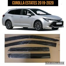 Toyota Corolla Estate Wind, rain, Deflectors. Window Visor 2019- 2020 full set