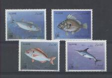 POISSON Algérie 4 val de 1989 ** FISH FISCH PESCE