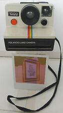 Polaroid SX-70 Rainbow OneStep 1000 Instant Film Camera + New Flashbar -TESTED