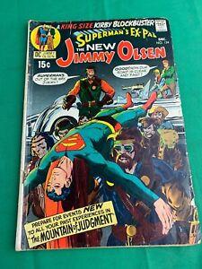 JIMMY OLSEN NO. 134  DARKSEID 1ST :   SUPERMAN KIRBY DC COMICS 1970 LOWER GRADE