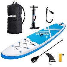 Tavola Gonfiabile da Stand Up Paddle SUP Board 300cm x 76cm x 15cm Colore Blu