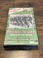 Prelude To War VHS Movie ~ B&W Why We Fight Series ~ HTF OOP RARE Clamshell