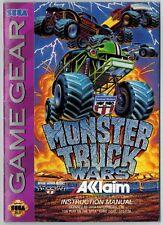 USHRA Monster Truck Wars (Sega Game Gear, 1994) MANUAL ONLY