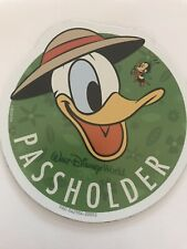 Disney World 2020 Epcot Flower & Garden Festival Donald Duck Passholder magnet
